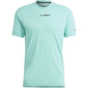 adidas TERREX Parley Agravic TR Allaround T-Shirt Men, acid mint